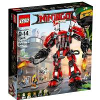 LEGO Ninjago Конструктор Огненный робот Кая Movie Fire Mech Building 70615